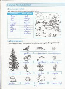 Biologija 5 klasei 1 dalis 2 puslapis