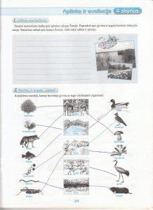 Biologija 5 klasei 1 dalis 29 puslapis