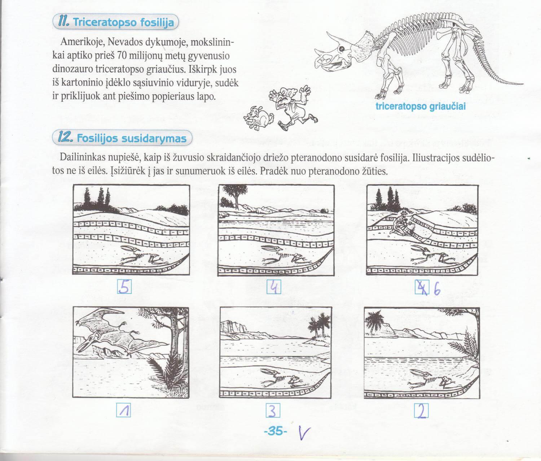 Biologija 5 klasei 1 dalis 35 puslapis