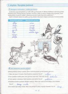 Biologija 5 klasei 1 dalis 4 puslapis