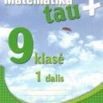 Matematika Tau Plius 9 klasei 1 dalis pratybų atsakymai nemokamai virselis 180x250