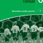 Matematika. Formulė 6 klasei 1 dalis pratybų atsakymai nemokamai virselis 180x250